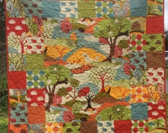Baby quilt, baby quilts boy or girl, modern baby quilts, toddler quilts, nursery bedding,