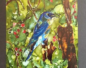 Painting Inks - Blue Bird