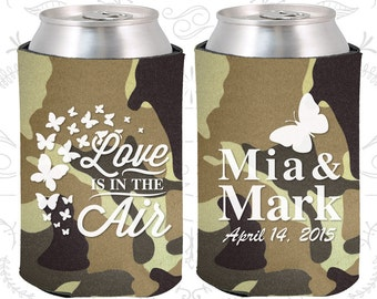 Love is in the Air, Wedding, Spring Wedding Favors, Butterfly Wedding Favors, Wedding Can Holders (568)