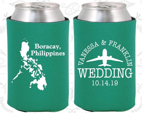Wedding Gift Destination Wedding: Philippines Wedding Favors Coolies Destination Wedding Gift