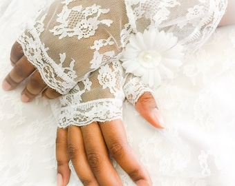 white lace gloves, fingerless gloves, wedding gloves, lace gloves, bridal gloves, white gloves, none stretch gloves