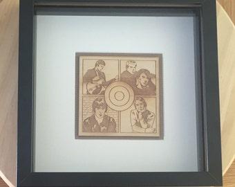 Paul Weller - Framed Lasercut Art