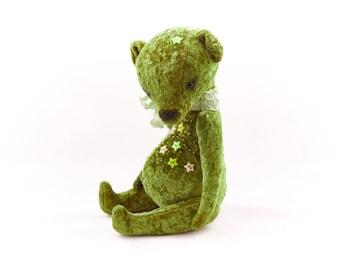 Teddy bear green Kristian