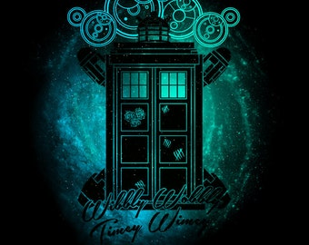 Wibbly Wobbly Timey Wimey - Doctor Who Shirt | Scifi | T-shirt for Women Men | Funny t-shirt for kids
