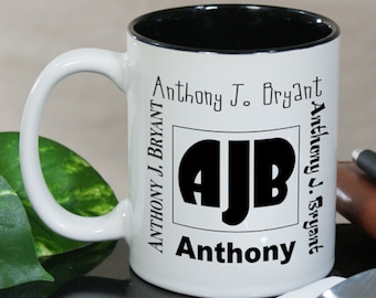 Personalized My Initials Coffee Mug