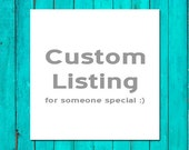 Custom Listing for Save The Date Printing