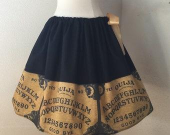 Ouija Board Skirt, Halloween, Creepy, Ouija Board, Adjust Waist Fits ALL Sizes!