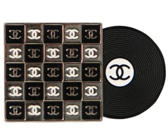 Chanel Album Cover Brooch.
