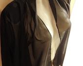 Women Clothes ,Women Blazer,Women Veil Elegant Blazer ,Black Blazer , XL ,Bohemian Women Blazer ,Mori Girl
