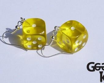 D6 Dangle Earrings
