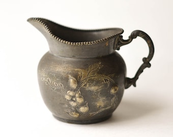 Silver Plate Creamer or Small Pitcher Woodman, Cook, Portland Maine