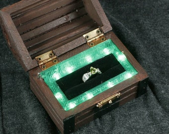 Treasure Chest Ring Box Zelda Inspired