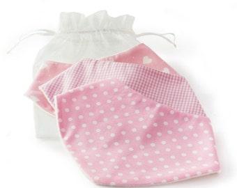 Pink Dribble bib gift set