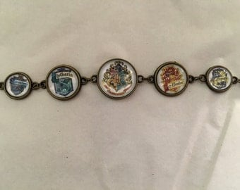 Hogwarts House Harry Potter Bracelet