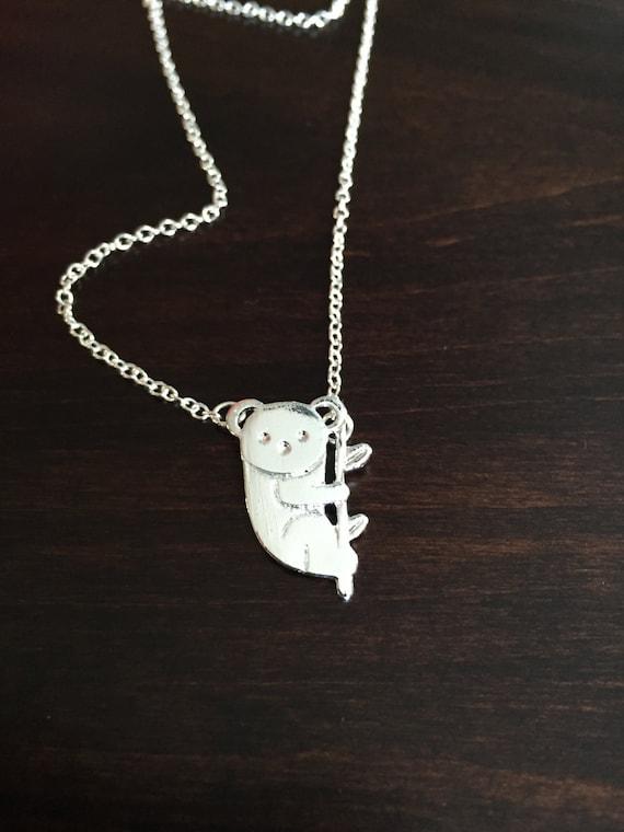 koala koala koala necklace koala jewelry koala