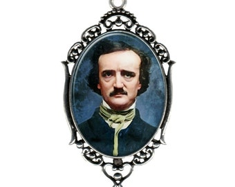 Classic Horror Edgar Allan Poe Pendant Necklace