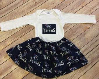 Tennessee Titans Baby Girl Set