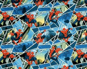 Spiderman fabric Marvel CP 52280 - Springs Creative