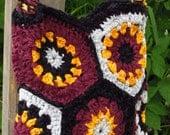 Burgundy Shoulder Bag Colourful Shoulder Bag