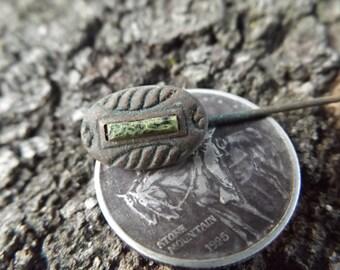 Original Civil War Era Ornate Hat Pin - Dug NJ Camp @ Brandy Station, VA - Authentic & Unique!  Union and Confederate Cavalry Battlefield