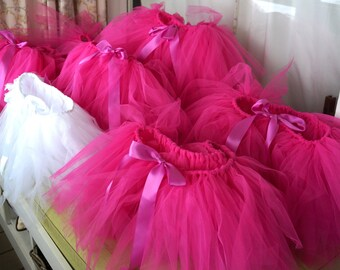 9 Adult Tutus - Bachelorette Tutus - Hot Pink Tutu Pack - Tutu Party - Group Tutus