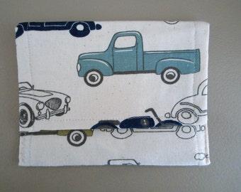 Classic Car pouch Car pouches velcro closure