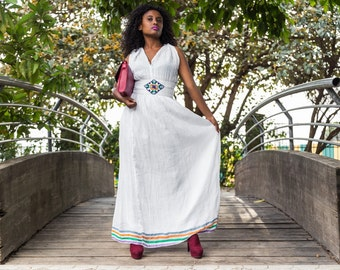 Ethiopian dress with simple designs