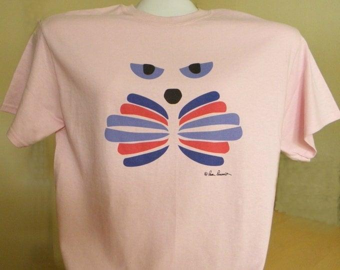 GIRLFRIEND Gift Idea; a PonsArt original featuring a Cat Face on 100% Preshrunk Cotton