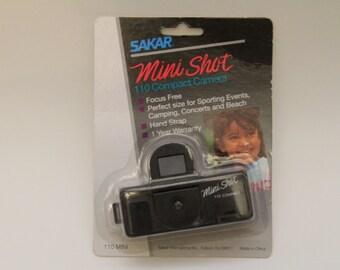Sakar Mini Shot 110 Compact Camera, 110 Film Camera, Vintage Camera, Vintage Film Camera