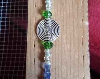 I'M AWARE Silver Swirl bracelet