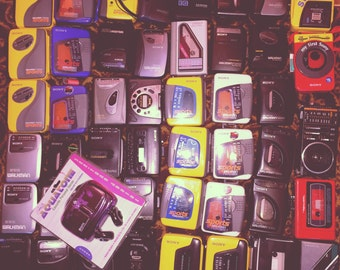 Retro Walkman Cassette Tape Player (1) // Vintage 80s 90s Sony