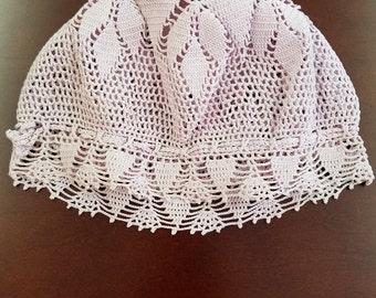 Crochet Baby Bonnet  #10