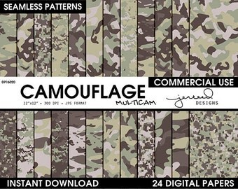 Army Multicam Camouflage || Military Camouflage Patterns || Camoflouge || Multicam Camo || US Army Pattern || Commercial Use || DP16020