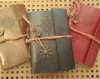 Leather Bound Journal (6 x 4) 80 pages