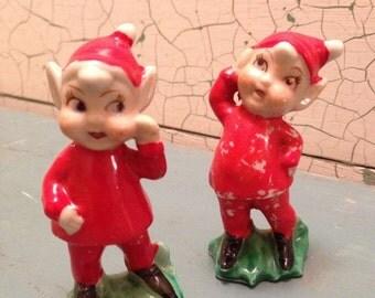 Vintage Elf Figurines