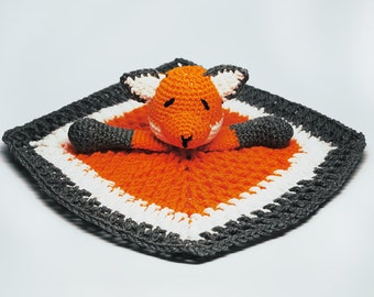 Baby Fox Blanket Orange - Fox Blanket - Baby Fox Blanket - Fox Baby Blanket - Baby Fox Lovey - Fox Newborn Gift - Baby Shower Gift - Fox