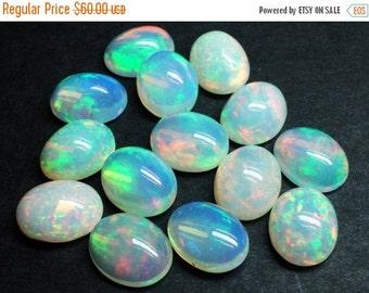 Sale -- 40% -- Ethopian Opal , 10 x 8 mm , Cabochon Oval , 1 piece