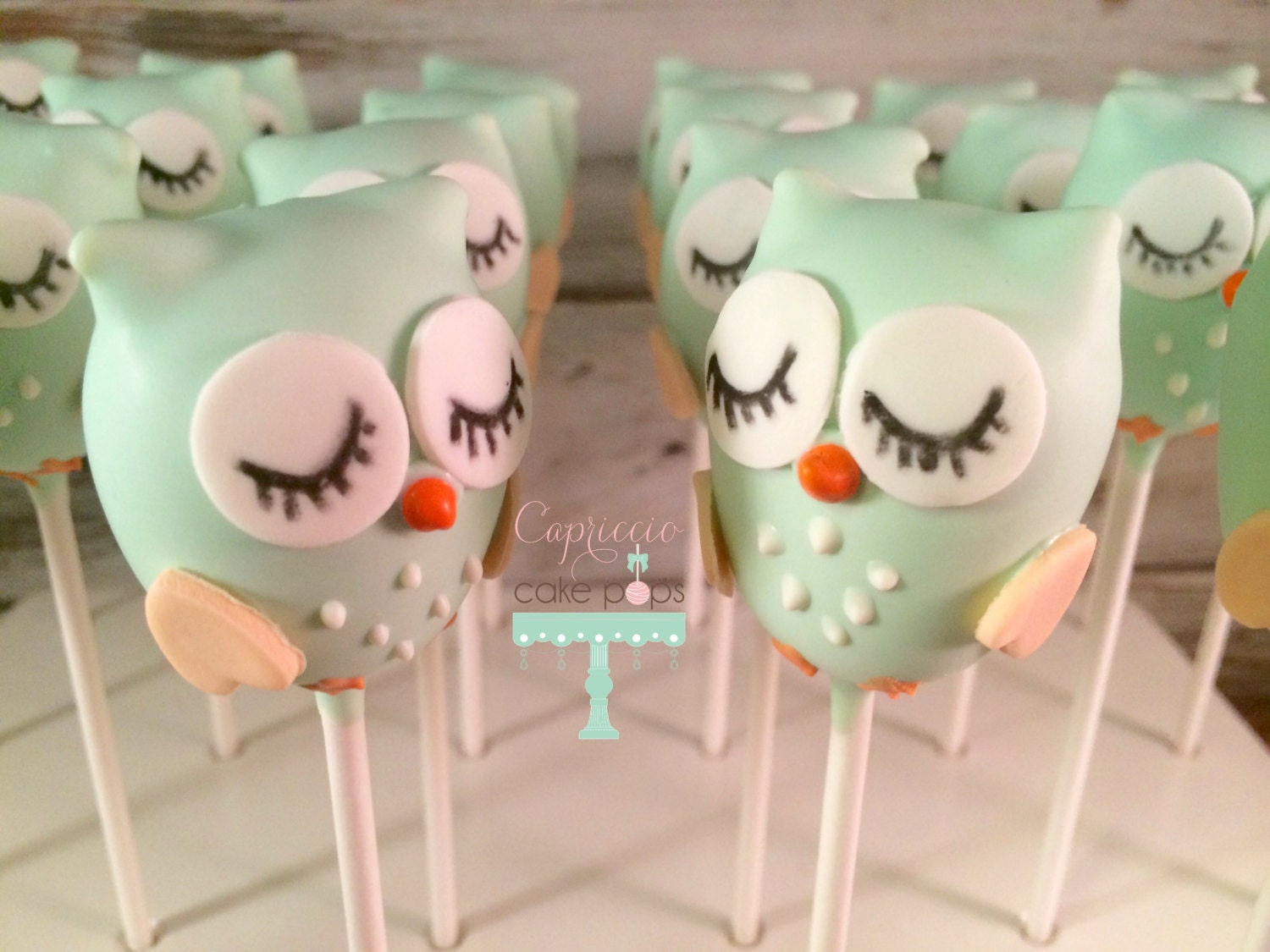 baby shower favors baby owl cake pops by capricciocakepops on etsy