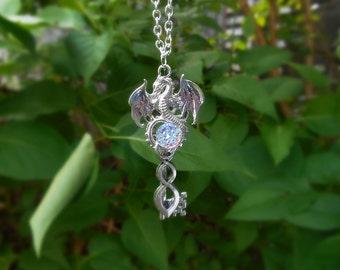 necklace dragon key fantasy key fantasy jewelry dragon key pendant