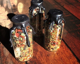 Witches Protection Bottle - Witch Bottle - Spell Bottle - Witches Bottle