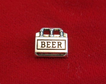 """BULK! 30pc """"beer"""" charms in antique silver style (BC855B)"""