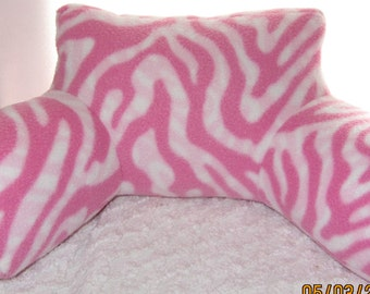 Ready to ship, doll or stuffed animal bed pillow with arms, doll pillow, bed pillow, 18 inch doll
