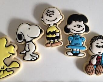PEANUTS gang cookies