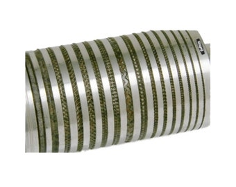 80mm Rolling Mill Pattern Roll Design # 56 From 0.7 to 3.0mm Wide Jewelry WA