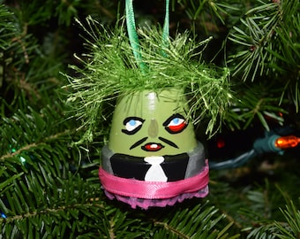 OLD GREGG inspired Christmas ornament - Mighty Boosh character bell ornament