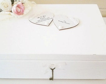 Wedding Keepsake Box