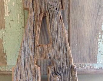 Salvage Barn wood Letters Salvage Barnwood Letters