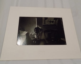 Vintage Signed 16x20 Photograph by Charles Harbutt