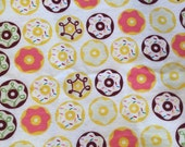 Frosted Donuts Cotton Flannel