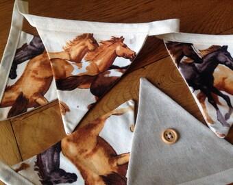 Horse design bunting